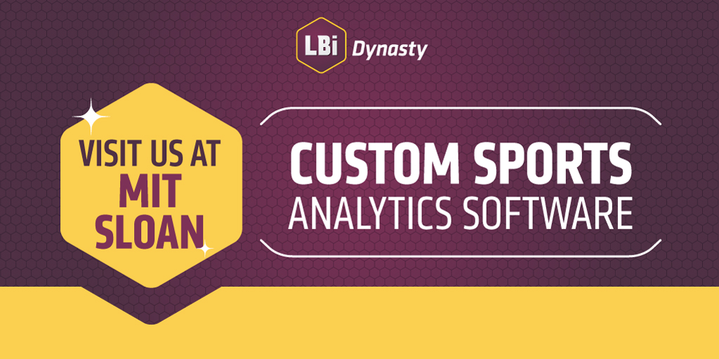 LBi Dynasty Sponsors the 2018 MIT Sloan Sports Analytics Conference